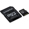 "Kingston Memóriakártya, Micro SDXC, 256GB, Class 10, UHS-I, 80/10MB/s, adapterrel, KINGSTON ""Canvas Select"""