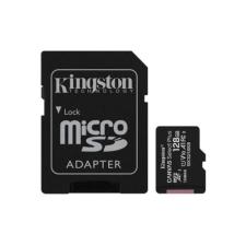 Kingston Memóriakártya MicroSDXC 128GB Canvas Select Plus 100R A1 C10 + Adapter memóriakártya