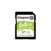 Kingston Memóriakártya SDXC 64GB CL10 UHS-I Canvas Select (80/10)