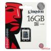 Kingston MicroSDHC 16GB, Class4, Sima