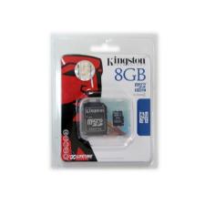 Kingston microSDHC 8GB (Class 4) memóriakártya