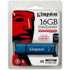 "Kingston Pendrive, 16GB, USB 3.0, vízálló, KINGSTON ""DTVP30DM"", kék"