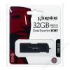 Kingston Pendrive, 32GB, USB 2.0, 10/5MB/sec, KINGSTON DT100 G2, fekete (UK32GDT1)