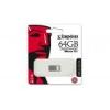 """Kingston Pendrive, 64GB, USB 3.1, 100/15MB/s, KINGSTON \""""Data Traveler Micro\"""", ezüst"""