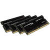 Kingston SO-DIMM DDR4 32GB 2400MHz Kingston HyperX Impact Black CL15 KIT4 (HX424S15IBK4/32)