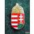 Kitűző - koronás címer 15mm