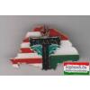 Kitűző - NagyMagyarország, osztott, trianoni kereszttel