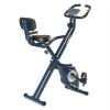 KLARFIT Klarfit Azura Pro X-Bike szobakerékpár, max. 100 kg, pulzusmérő, összecsukható, 3 kg, kék