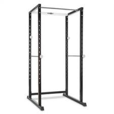 KLARFIT PR1000, edző állvány, acél, kétkezes súlyzótartó, biztonsági támaszok súlytartó állvány