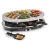 Klarstein All-U-Can-Grill, 1500W, raclette grillsütő 4 az 1-ben, kőlap, 8 személyes