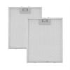 Klarstein alumínium zsírszűrő, 23,8x31,8 cm, cserélhető pót filter, tartozék