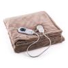 Klarstein Dr. Watson M melegítő takaró, 120W, mosható, 150x100cm, mikroplüss, bézs