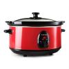 Klarstein Klarstein Bristol 35, vörös, 200 W, 3,5 literes, lassú főzőedény
