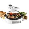 Klarstein Maverick, fehér, halogén grillsütő, barbecue grillsütő füst nélkül, asztali grillsütő, 1500 W