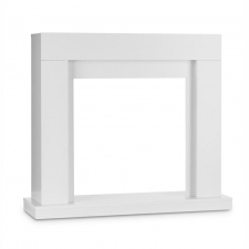 Klarstein Studio Frame kandalló keret, MDF, modern dizájn, fehér hűtés, fűtés szerelvény