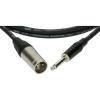 Klotz XLR-JACK kábel, 10 m – Klotz XLR3M - JACK2 csatlakozók + MY 206 fekete kábel