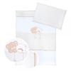 Klups 2 részes ágynemű - Macik csillaggal bézs-fehér