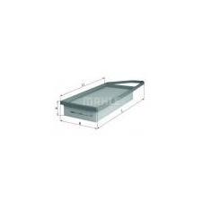 """"""""""" """"KNECHT Levegőszűrő Citroen C3 - Ferdehátú 1.4 HDi (8HX (DV4TD)) 68LE50kW (2002.02 -)"""" levegőszűrő"""