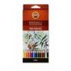 """KOH-I-NOOR Akvarell ceruza készlet, KOH-I-NOOR \""""Mondeluz 3716/12\"""" 12 különböző szín [12 db]"""
