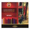 """KOH-I-NOOR Olajpasztell kréta,  """"Gioconda 8114/24"""", 24 különböző szín"""