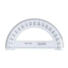 KOH-I-NOOR Szögmérő, műanyag, 180 °-os, iskolai kiegészítő