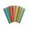 . Koktél szívószál, színes, 500db-os szett, 25cm