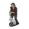 Koldus-Kéregető férfi kutyával-üveggel