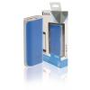 König Hordozható Külső Akkumlátor 5000 mAh USB Kék KNPB5000BU