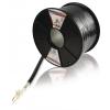 König Mikrofon Kábel Tekercsben 2x 0.35 mm² 100 m Fekete König kn-mc002r