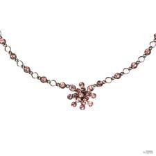 Konplott nyaklánc ékszer Collier Magic Fireball rózsaszín Vintage Rosa nyaklánc