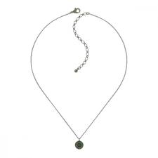 Konplott nyaklánc ékszer nyaklánc Spell on You zöld antique réz nyaklánc