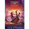 Könyvmolyképző Kiadó Rick Riordan: Tűztrónus - Kane krónikák 2.
