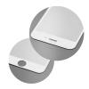KORACELL Edzett üveg 5D Full Glue kijelzőre Apple iPhone X, iPhone XS / speciális kerekítés, fehér