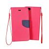 KORACELL Flexi color book tok - Huawei Honor 4X - rózsaszín - sötétkék