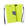KORACELL Flexi color book tok - Microsoft Lumia 950 XL - lime - sötétkék