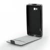 KORACELL Flexi flip tok - Samsung E500 Galaxy E5 - fekete