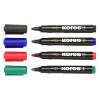 """KORES Alkoholos marker, 3-5 mm, kúpos, KORES """"Marka"""", 4 különböző szín"""
