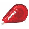 "KORES Hibajavító roller, 4,2 mm x 15 m,  ""Roll On"", piros"