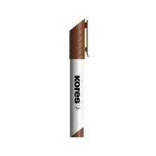 """KORES Tábla- és flipchart marker, 1-3 mm, kúpos,  """"K-Marker"""", barna filctoll, marker"""