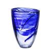 Kosta Boda CONTRAST BLUE VASE H 200MM