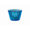 Kosta Boda CUPCAKE BLUE VOTIVE D 86MM