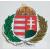 Koszorús címeres matrica 2 cm