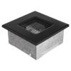 Kratki Fekete Szellőzőrács Standard 11x11