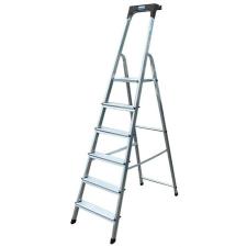 """KRAUSE Állólétra, 6 lépcsőfokos, alumínium, KRAUSE """"Safety"""" létra és állvány"""
