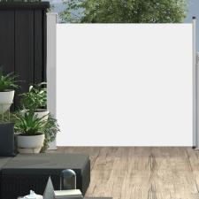 Krémszínű kihúzható oldalsó teraszi napellenző 170 x 300 cm kerti dekoráció