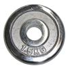 Króm korong 1,5 kg - 30 mm