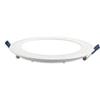Króm LED panel (kör alakú) 18 Watt - természetes fehér