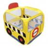 Ks Kids Iskolabusz játszósátor, színes labdákkal