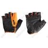 KTM Factory Line rövid ujjú kesztyű, fekete/narancs, XL