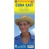 Kuba keleti része térkép - ITM